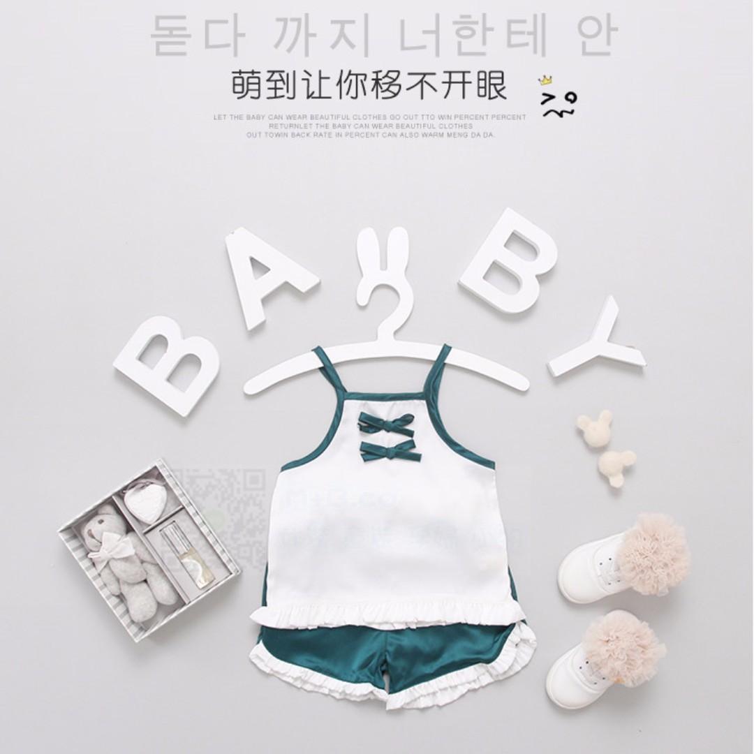 #預購童裝5館0521女寶寶中國風兩件套裝