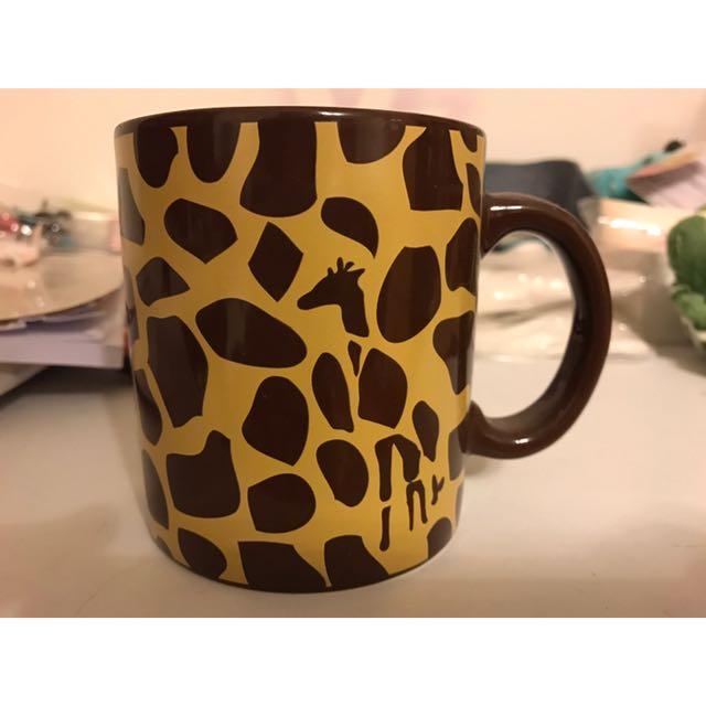 長頸鹿花紋馬可杯