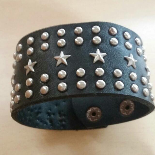 星星龐克風手環