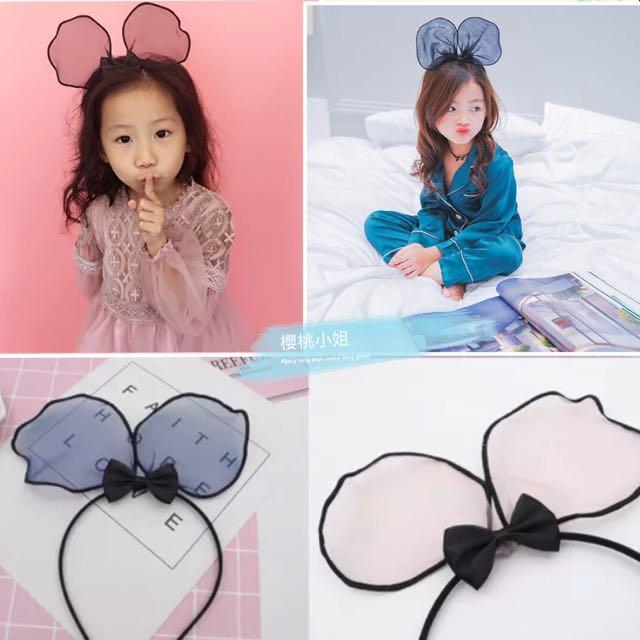 現貨實拍✨韓國立體誇張大米奇耳朵 大人小孩通用