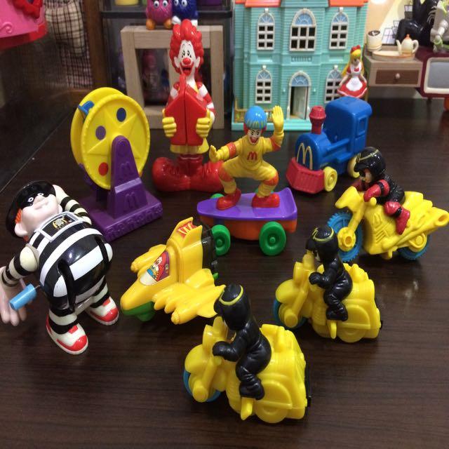 麥當勞玩具 麥當勞叔叔 漢堡神偷 絕版玩具