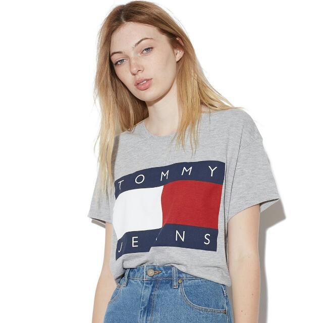 正品 最便宜 Tommy 短t 短袖 上衣 背心 夏天 夏日 棉 歐美 2017 GD bigbang AF HCO