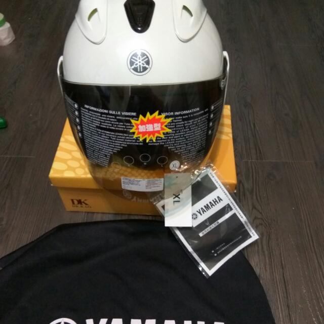 山葉 YAMAHA 4/3 原廠 安全帽 XL