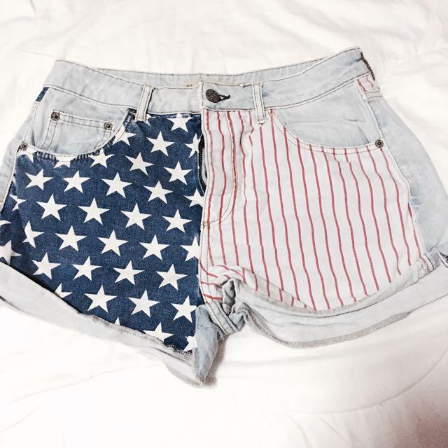 American Flag short