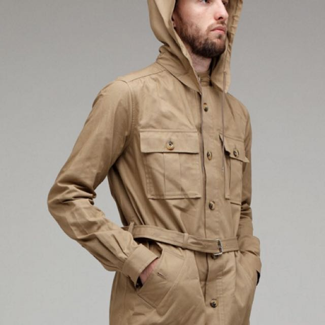 A.P.C Hooded Jacket - Size M