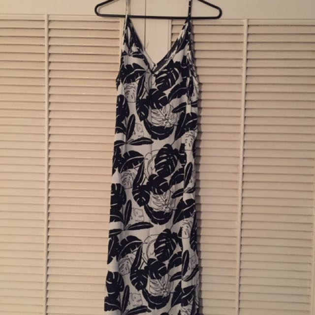 Asos Patterned Midi Dress