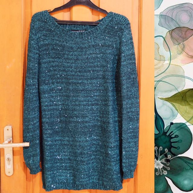 Atmosphere Green Sweater