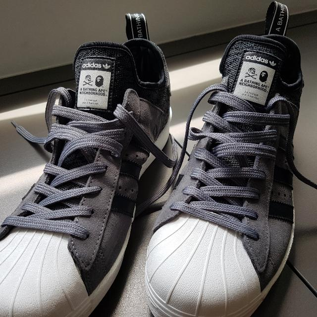 eb0c2d4b7888 BAPE x ADIDAS x NEIGHBORHOOD Superstar Boost