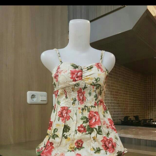 Barbara Flowerry Mini Dress