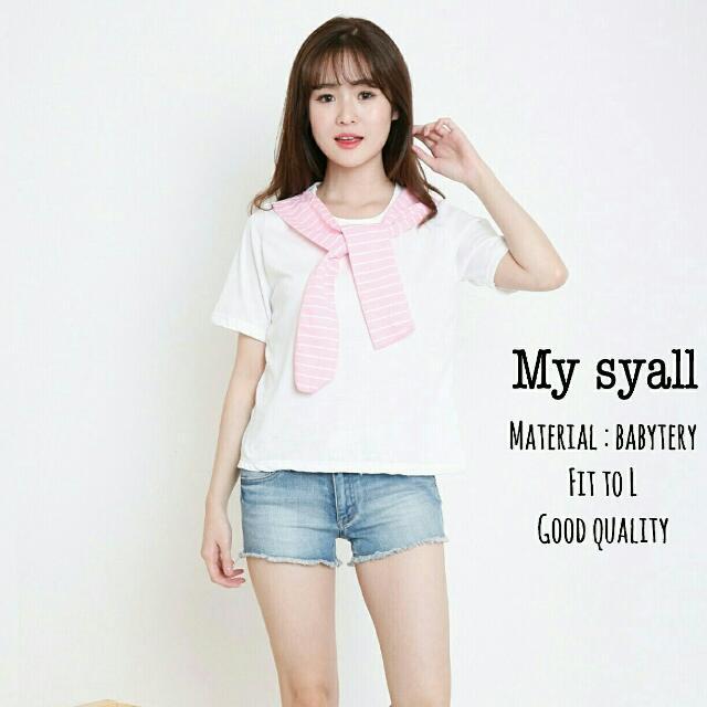 BD- My Syall  Kaos Putih Syall