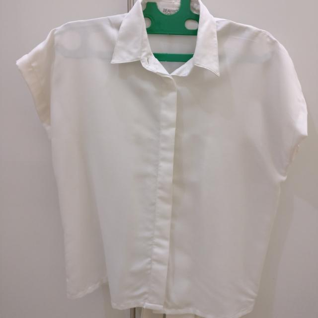 Beatrice White Blouse