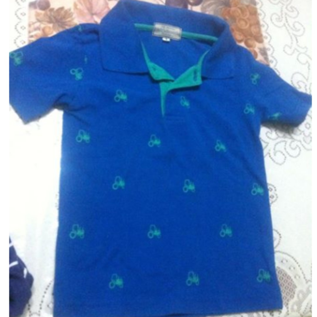 Big & Small Printed Polo Shirt
