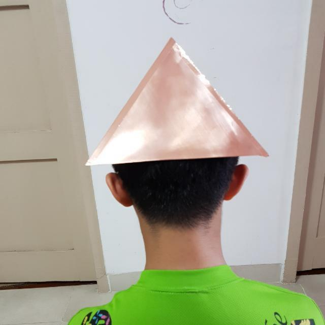 Big Pure Copper Pyramid For Meditation, Energize Food And