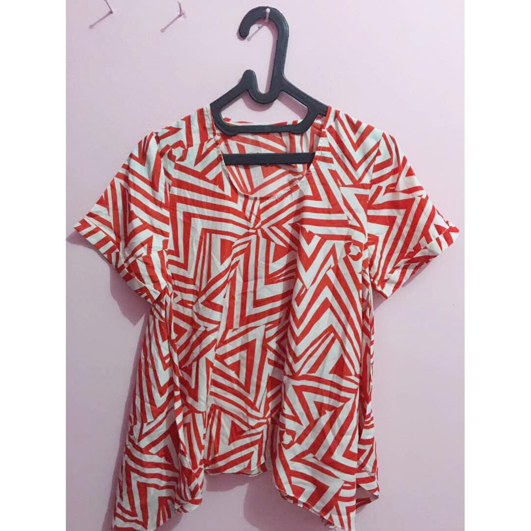blouse santai