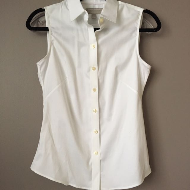 BNWT: Banana Republic Sleeveless Dress Shirt