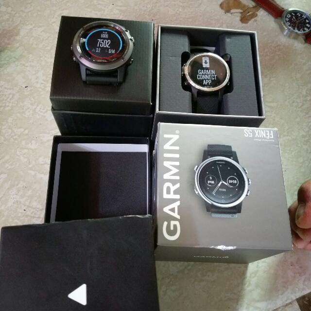 Brand New GARMIN WATCH FINEX 5X AND FINEX 3HR