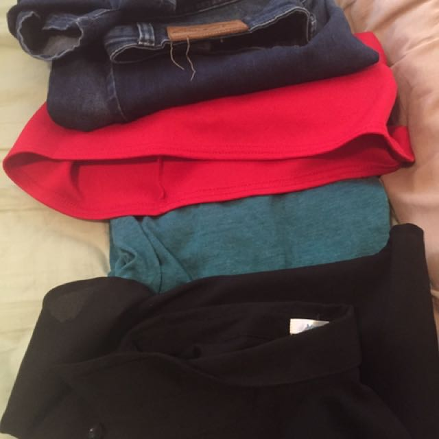 Bunch of women's clothes