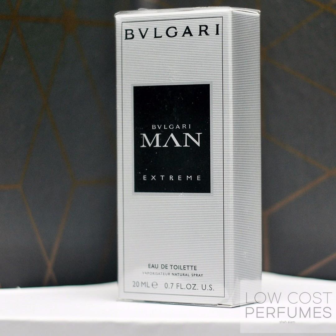 Bvlgari Man Extreme 20ml Purse Perfume Health Beauty Perfumes Parfum Singapur Nail Care Others On Carousell
