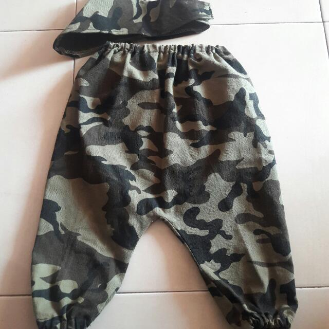 Celana Army Baby Preloved