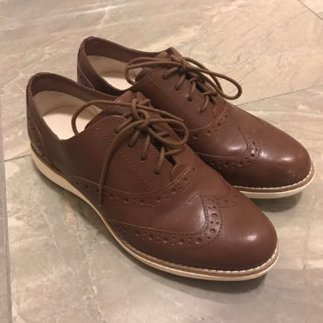 Cole Haan Women's Leather Oxfords Size 5.5