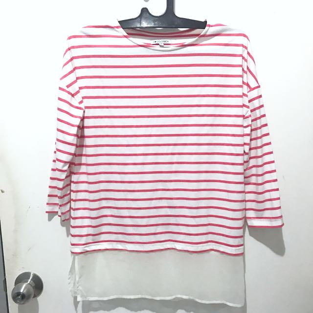 Colorbox Stripes Tee (Original 100 %)