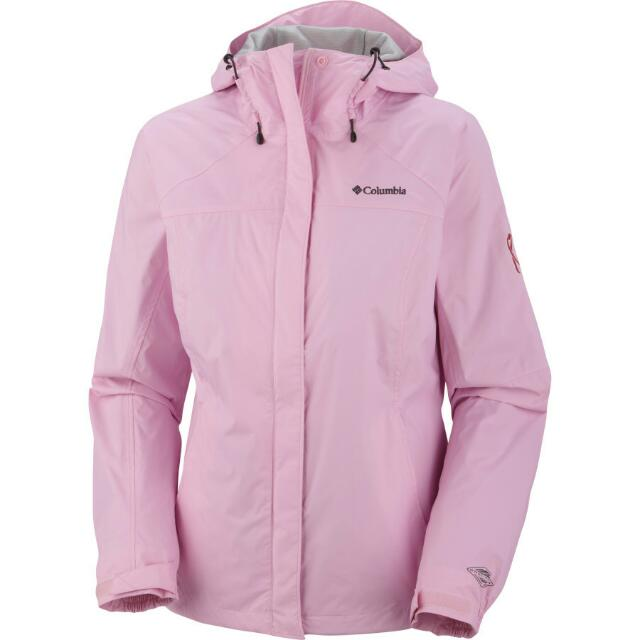 Columbia 嫩粉色雪衣