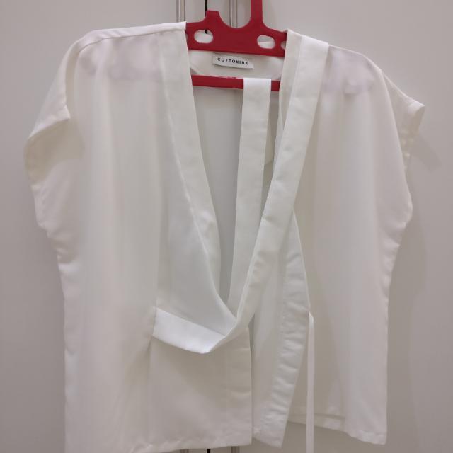 Cottonink Kimono Top