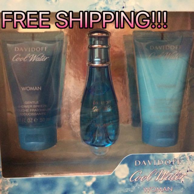 Davidoff Cool Water Woman Gift Set 50mL