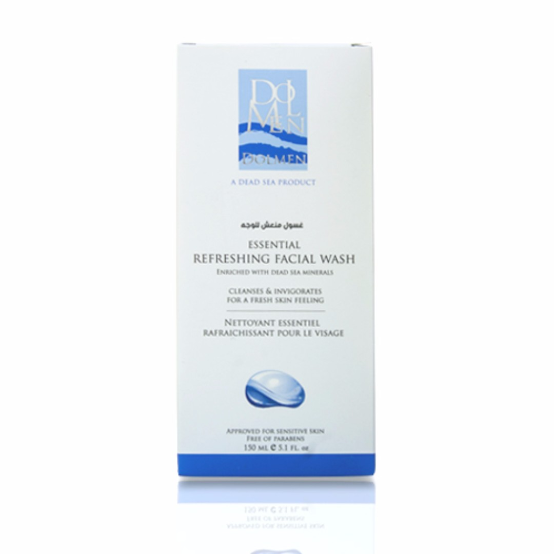 Dolmen Dead Sea Essential Refreshing Facial Wash 150ml Health Wardah Hydrating Moisturizer Cream 400 Ml Beauty Skin Bath Body On Carousell