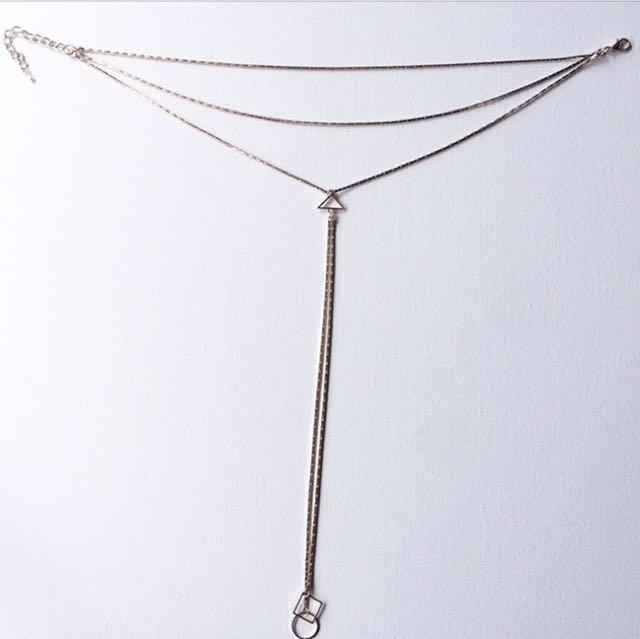 Drop Necklace Choker - Never Worn!!