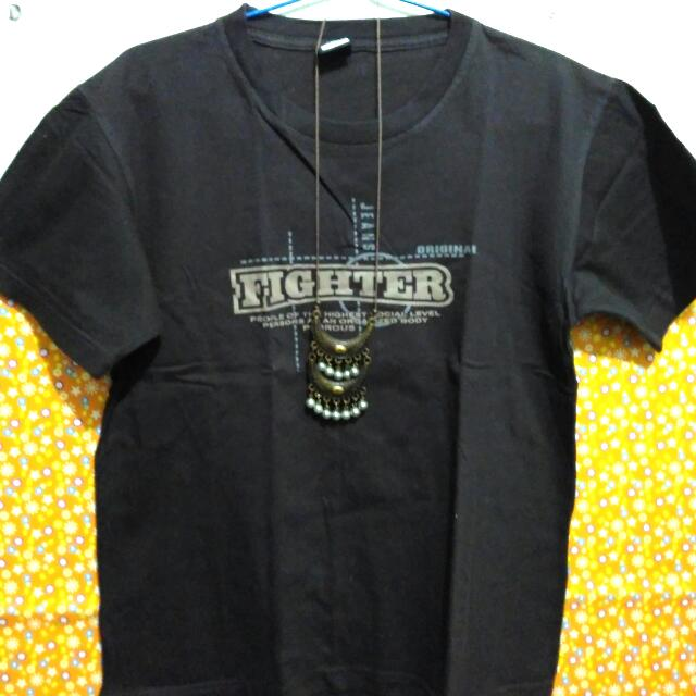 Fighter Brown Shirt