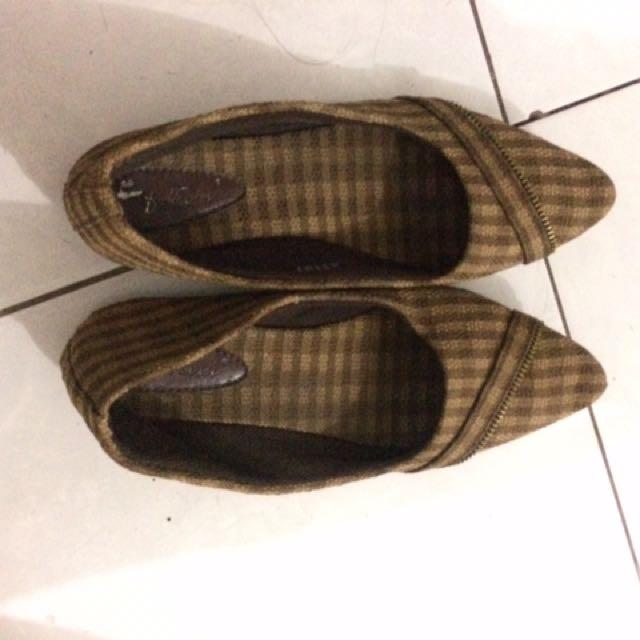 Flatshoes Kotak Kotak
