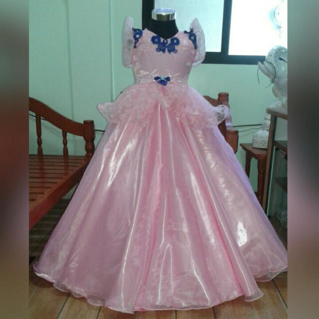 Flores De Mayo Gown, Babies & Kids, Girl\'s Apparel on Carousell
