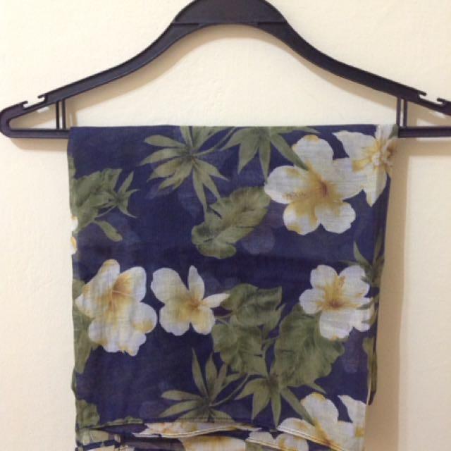 Flowery Jilbab