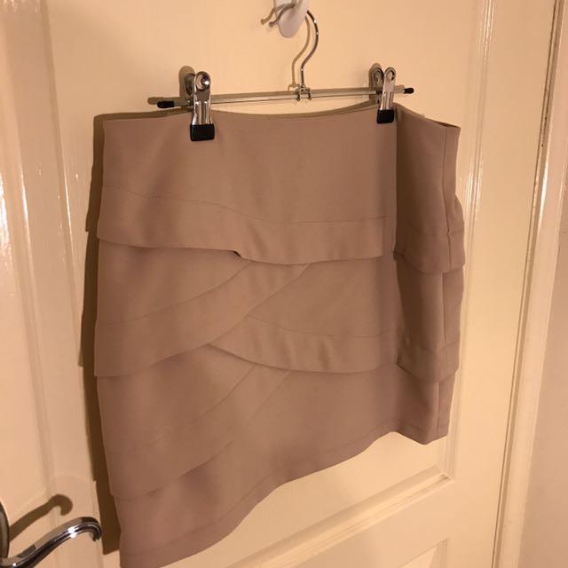 Forecast Beige Skirt