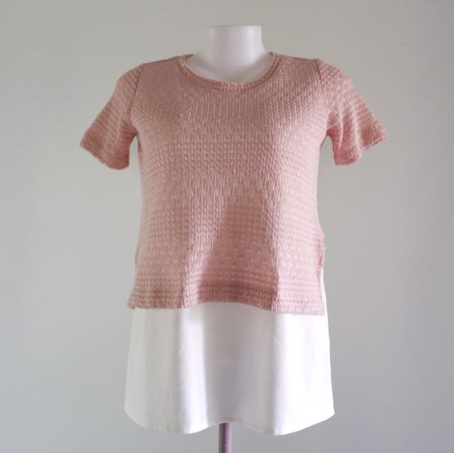 ForMe Blush Lace Top