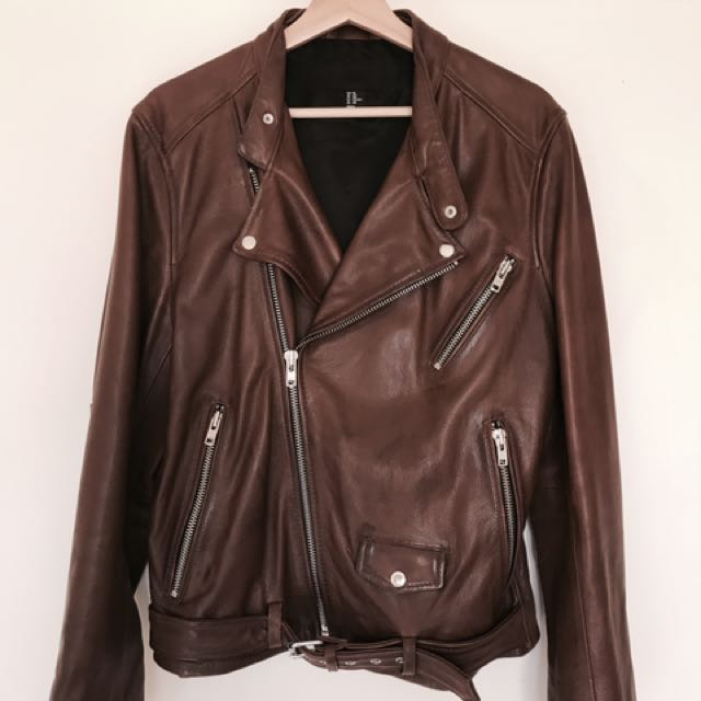 Genuine leather Jacket from H&M