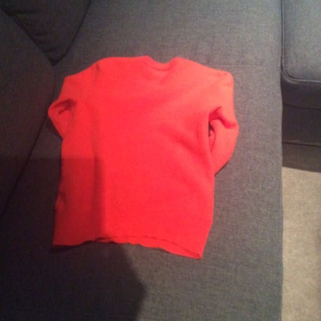 Gorman Orange Wool Jumper