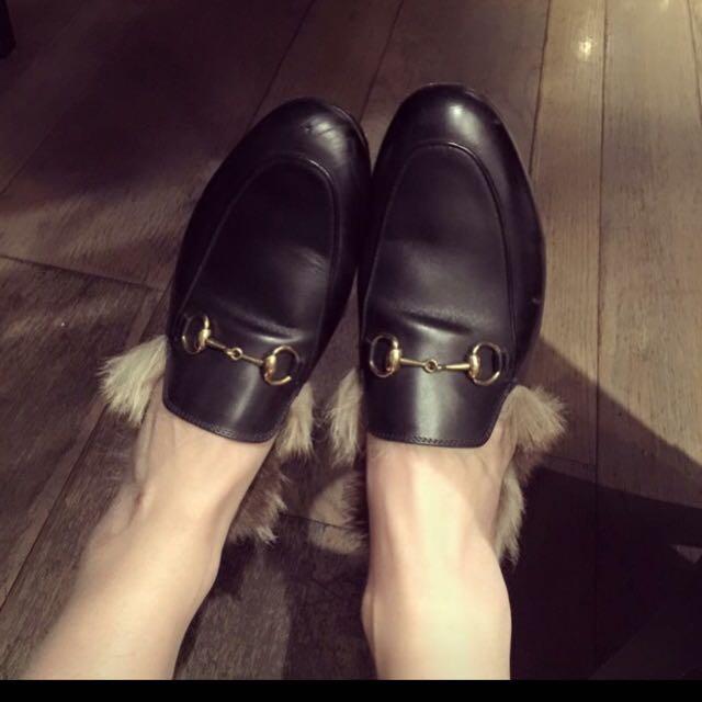 二手Gucci懶人鞋Doris同款