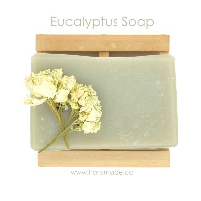 Handmade Eucalyptus Soap