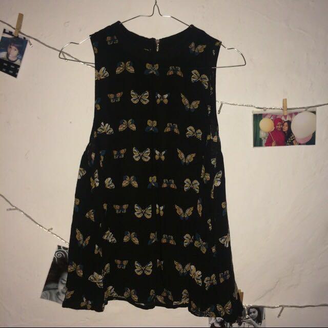 H&M Black Loose