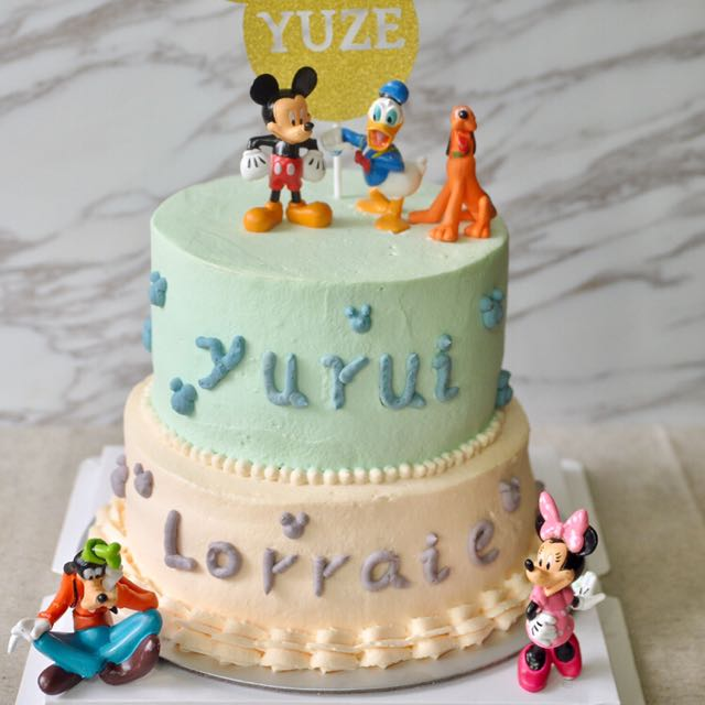Homemade Fresh Cream Kids Mickey Birthday Cake Home Appliances On Carousell