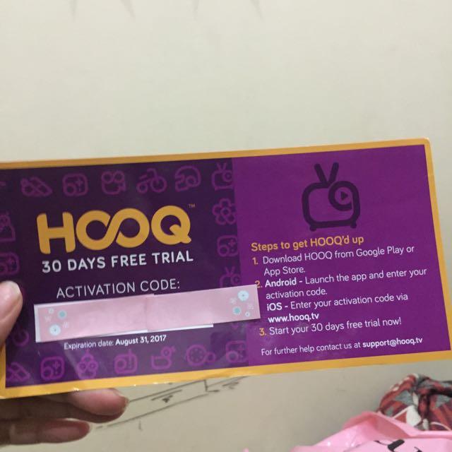 Hooq Free Trial