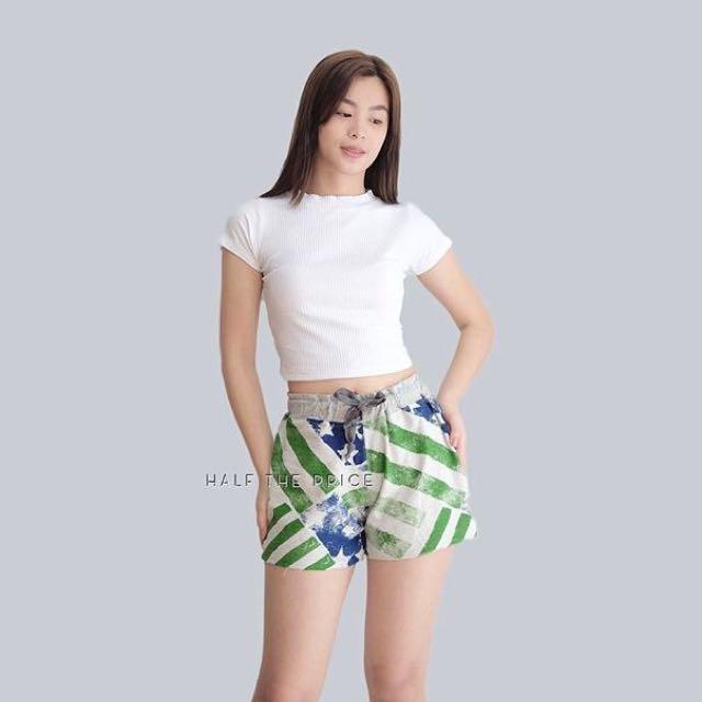 HTP Blue Green Shorts