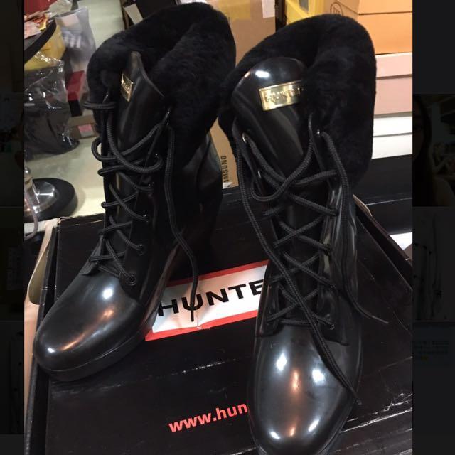 HUNTER 雨鞋 38號