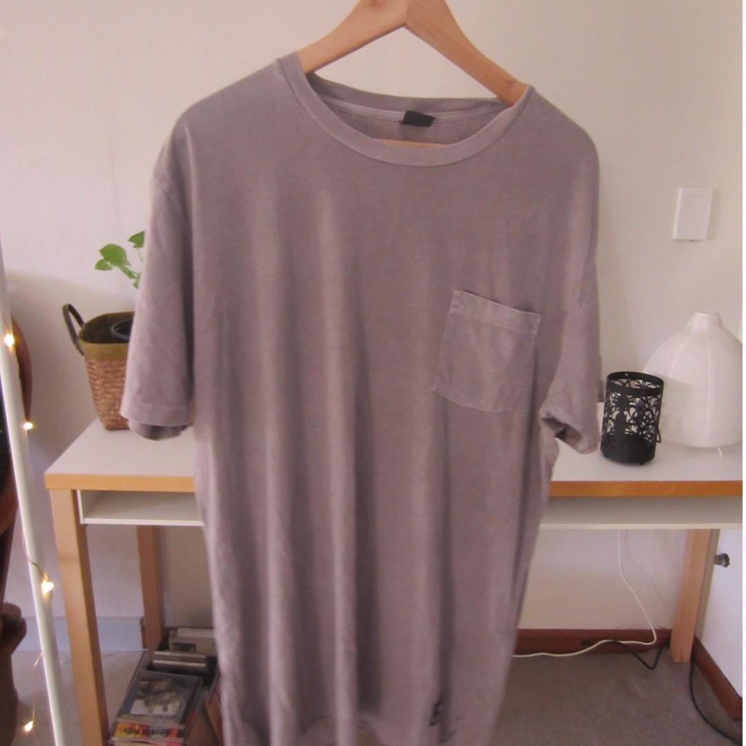Insight Basic Grey / Brown T-Shirt