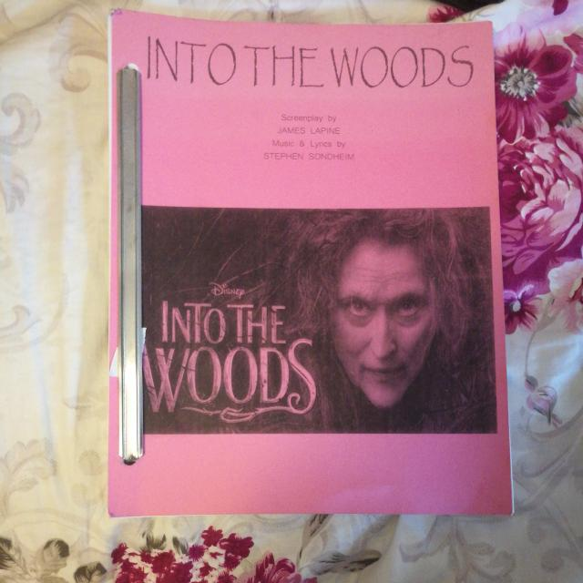 Into The Woods Screenplay (J)