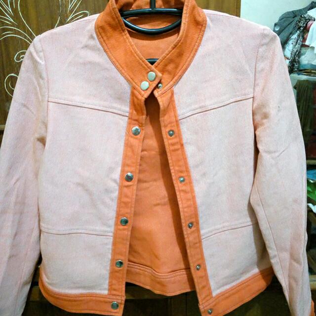 Reprice..Jacket/Blazer- Tangerine