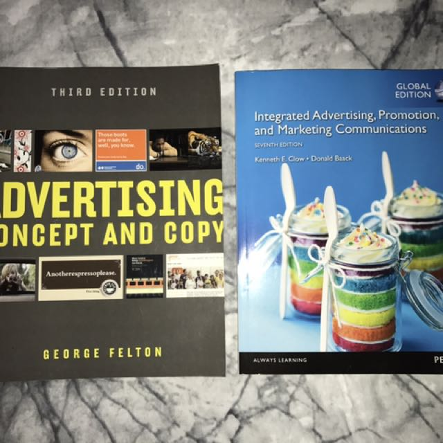 Journalism And Advertising TEXTBOOKS!