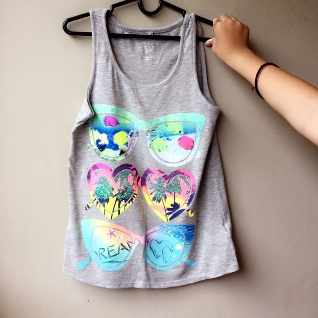 Justice Sleeveless Shirt For Kids